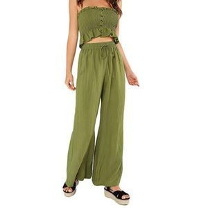 Pants - Olive green two piece set